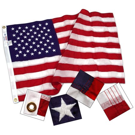 - 2.5ft x 4ft Sewn Nylon US Flag by Valley Forge