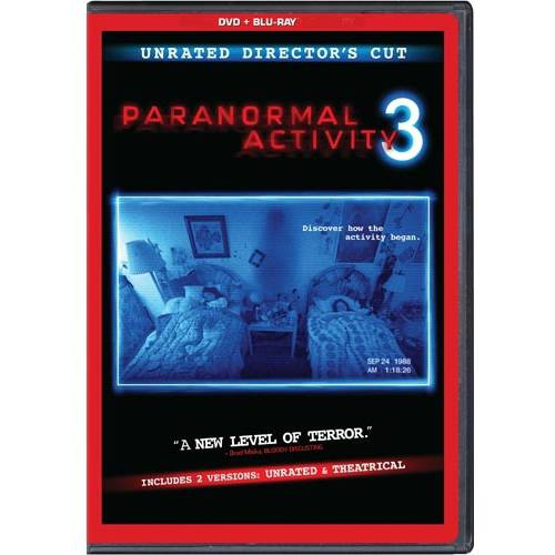 Paranormal Activity 3 (Rated/Unrated) (DVD + Blu-ray) (With INSTAWATCH) (Widescreen)