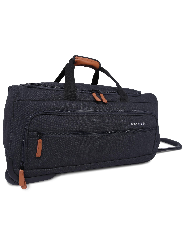 """Protege 22"""" Rolling Duffel Bag, Dark Gray"""
