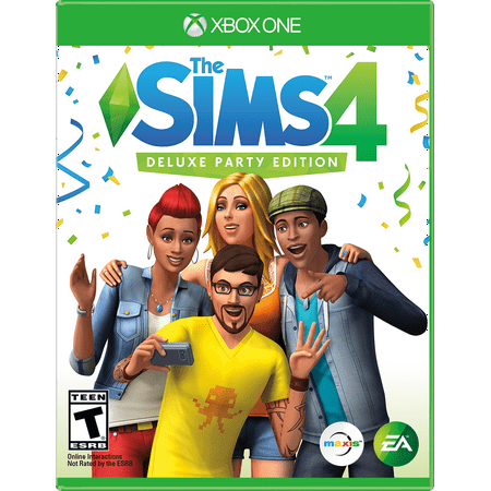 The SIMS 4 Deluxe Edition, Electronic Arts, Xbox One, 014633373561