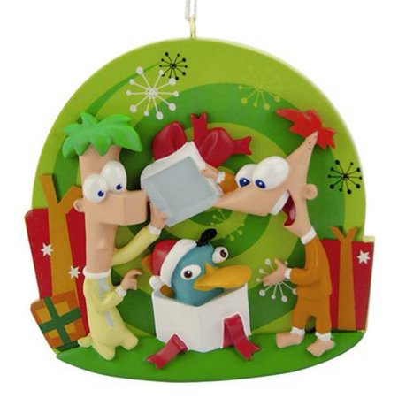 Disney Phineas & Ferb Christmas Ornament - Disney Storybook Ornaments