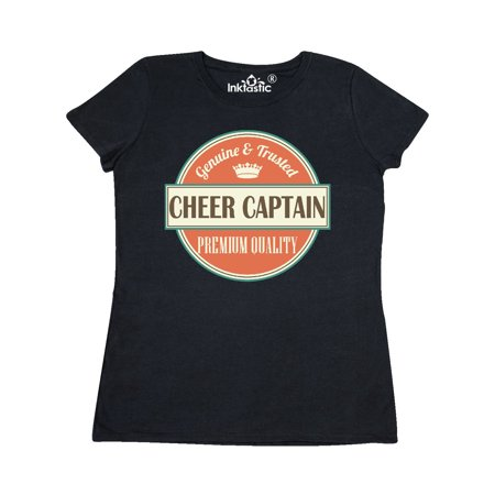 Cheer Captain Funny Gift Idea Women's T-Shirt for $<!---->