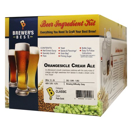Brewer's Best Orangesicle Cream Ale Five Gallon Beer Making Ingredient
