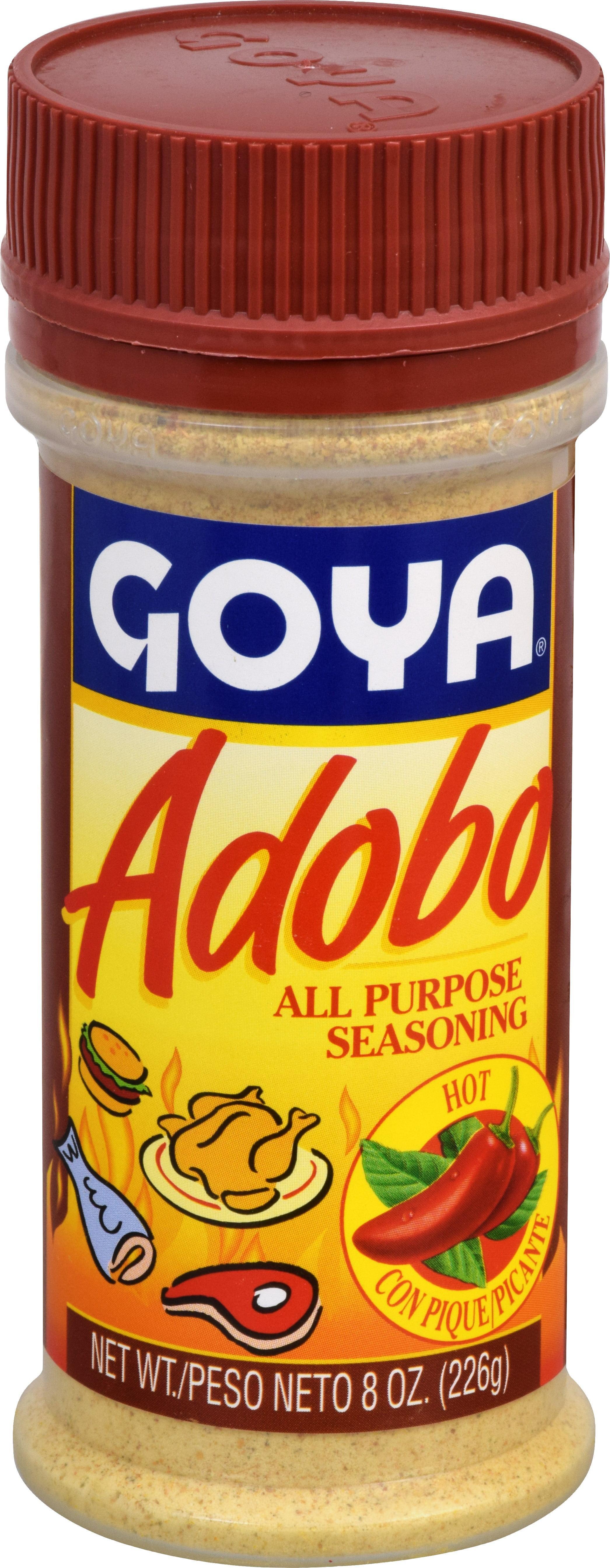 Goya Adobo All Purpose Seasoning, Hot, 8 Oz by Goya Foods