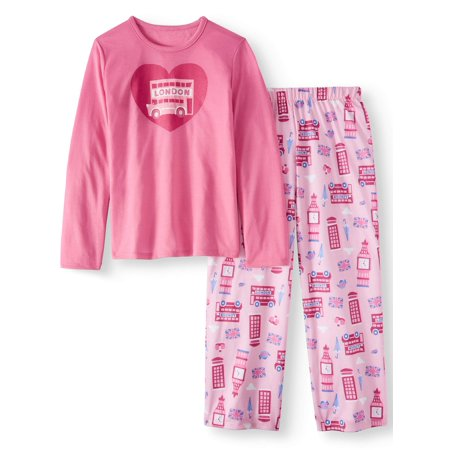 97c20d428 Toast & Jammies - Toast & Jammies Girls Long Sleeve Tee and Pant ...