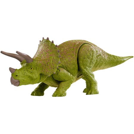 - Jurassic World Battle Damage Triceratops