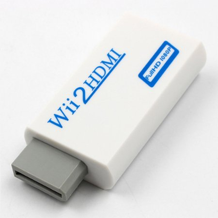 720P 1080P Full HD HDTV Wii to HDMI Video Converter Adaptor ()