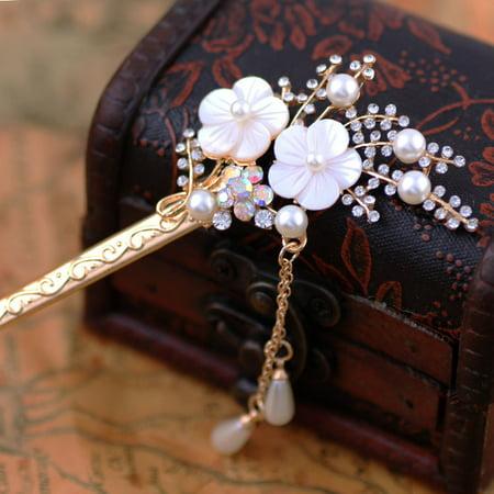 Chinese Traditional Hair Chopsticks Hair Sticks Hair Decor for Women and Girls Hair accessory ,Wedding Hair Fashion Jewelry