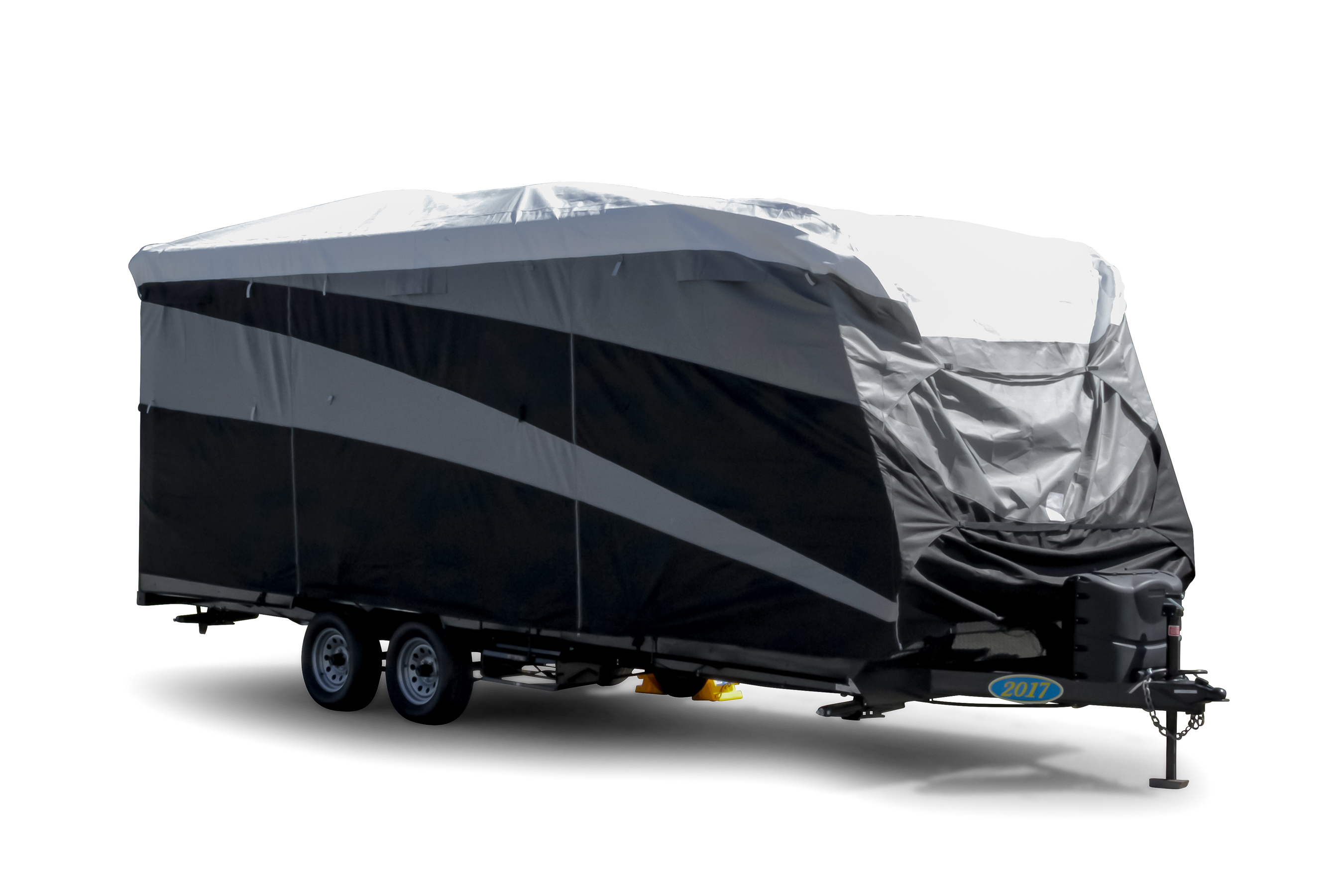 56122 Camco 15-18 ULTRAGuard Supreme RV Cover-Extremely Durable Design Fits Travel Trailers Weatherproof with UV Protection and Dupont Tyvek Top