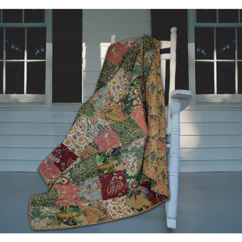 """Global Trends 60"""" x 50"""" Antique Chic Throw"""