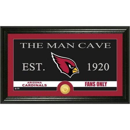 The Highland Mint NFL Man Cave Bronze Coin Panoramic Photo Mint, Arizona Cardinals ()