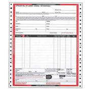 JJ KELLER Hazmat Bill of Lading Forms,Hazmat,PK500 12464