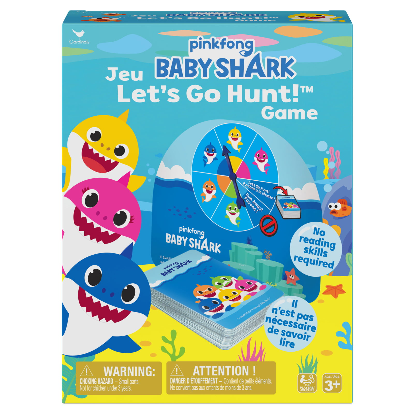 Pinkfong Baby Shark Let's Go Hunt Game