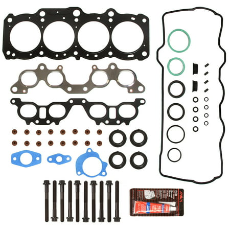 Evergreen HSHB2029 Head Gasket Set Head Bolts Fit 97-01 Toyota Camry Celica Solara 2.2 DOHC -
