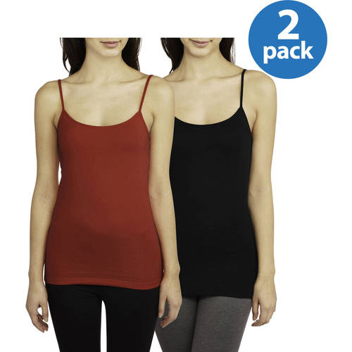 No Boundaries Juniors' Essential Cami 3-Pack - Only $1.68 Per Cami