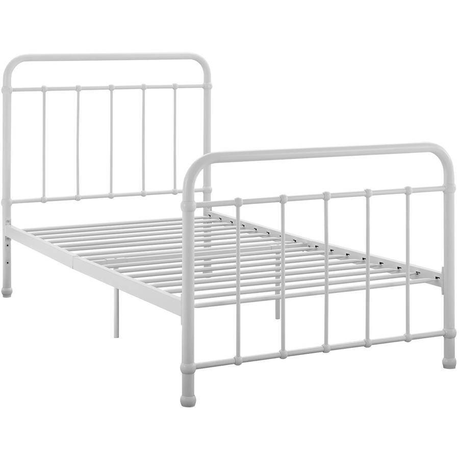 better homes and gardens kelsey metal bed multiple sizes and colors walmartcom - Basic Metal Bed Frame