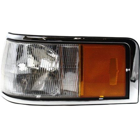 NEW CORNER LAMP LENS & HOUSING LEFT FITS 1990-1994 LINCOLN TOWN CAR FOVY15A201B (Lincoln Town Car Corner Light)