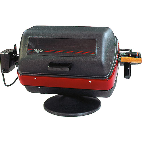 Meco 1500-Watt Deluxe Electric Table Top Grill with Rotisserie