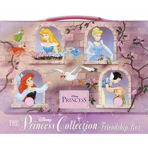 The Princess Collection Friendship Box: Cinderella, the Little Mermaid, Sleeping Beauty, Snow White and the Seven Dwarfs
