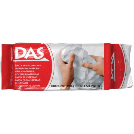 Prang DAS Air-Hardening Modeling Clay, Multiple Weights, White](Self Hardening Clay)