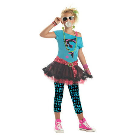 '80s Valley Girl Tween Halloween - Tween Girls Halloween Costumes