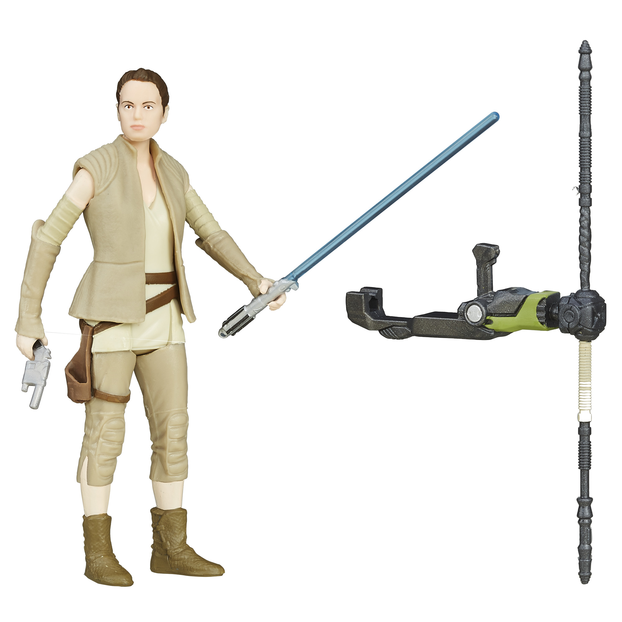 "Star Wars Episode VII - 3.75"" Rey (Resistance Outfit) Figure by Disney/Hasbro"