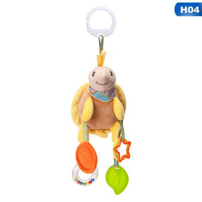AkoaDa Baby Toys Bed Stroller Toys Baby Newborn Hanging Plush Toys with Wind Chime, Squeak and teether Infant Toys for Baby Baby Toys Bed Stroller Toys Baby Newborn Hanging Plush Toys with Wind Chime, Squeak and teether Infant Toys for Baby
