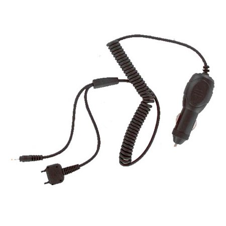 Sony Ericsson Car Charger & Bluetooth Adapter Cable for Sony Ericsson Z520 (Black) - K750C-Y (Watch Sony Ericsson)