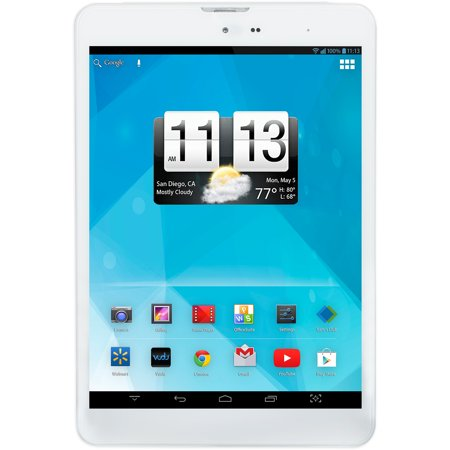 """Trio AXS 4G 7.85"""" Tablet with 16GB Memory, White"""