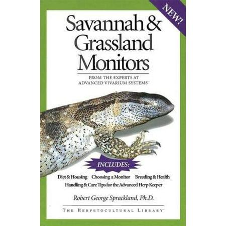 Savannah and Grassland Monitors - - Reptile Mk