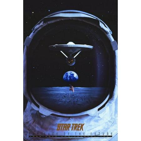 Star Trek TV Series 25Th Anniversary Movie Poster (11 x 17)