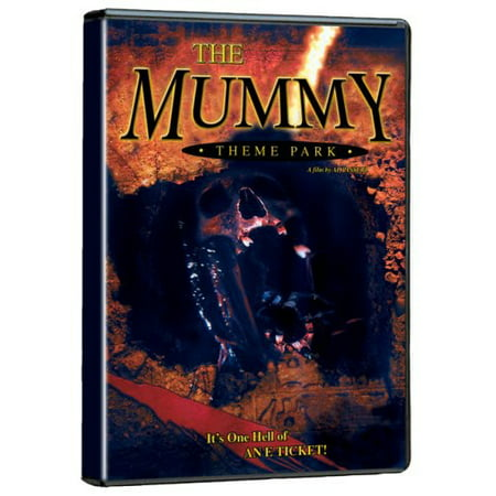 The Mummy Theme Park (DVD) - Theme Park Halloween Events