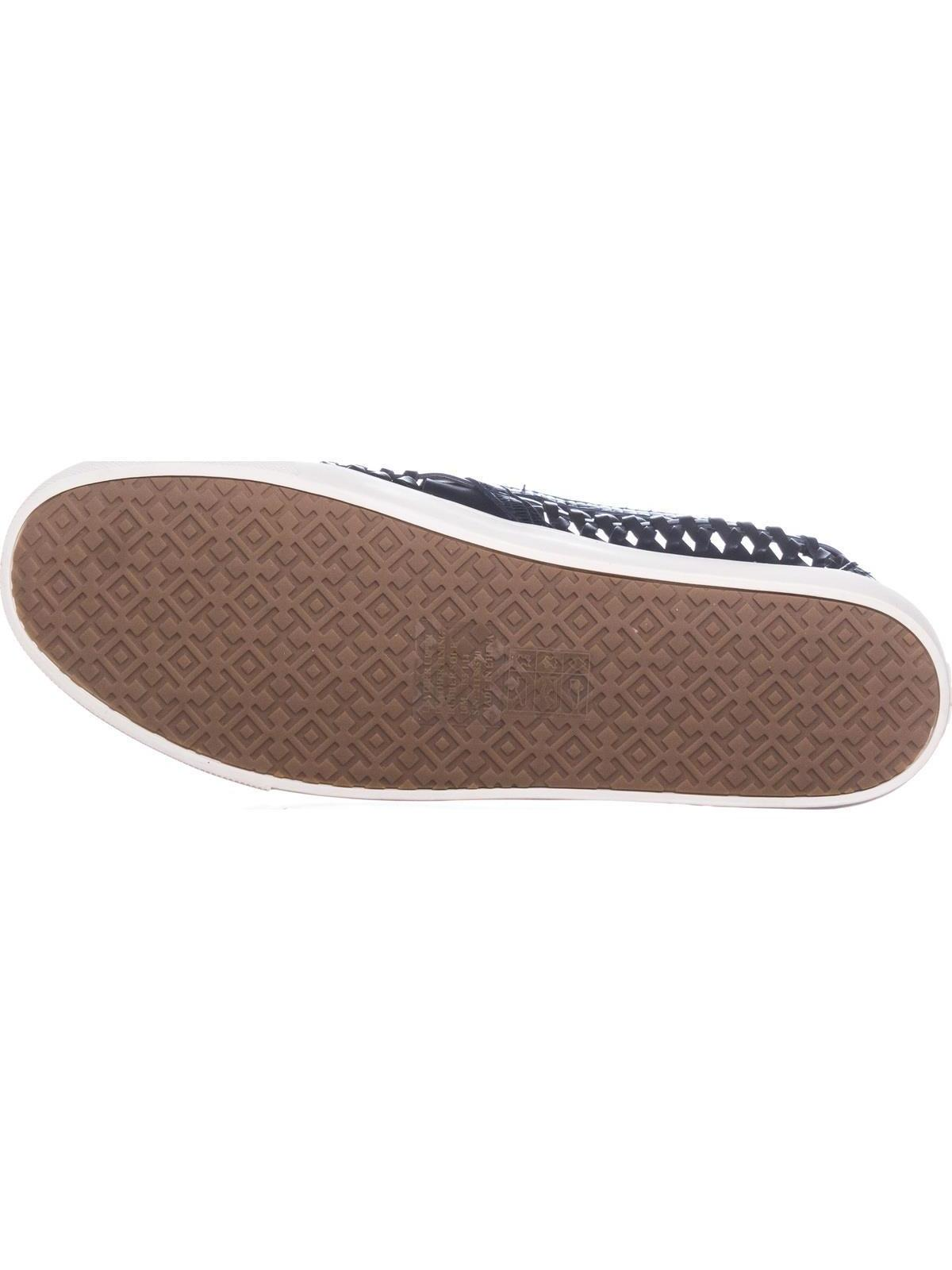 05fb87cce69d Tory Burch Huarache Slip On Woven Sneakers