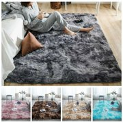 Super Soft Long Plush Gradient Non-Slip Area Rugs,Decorative Floor Mat For Living Room Bedroom Playing Room