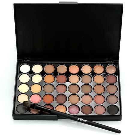 40 Color Eyeshadow Palette Brush Set Makeup Cosmetic Powder Makeup Set