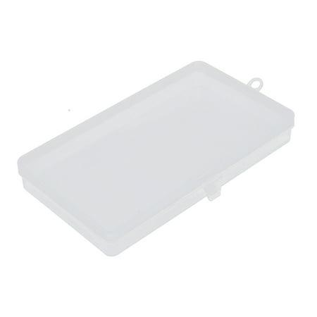 Unique Bargains Desk Plastic Multipurpose Transparent Storage Case Box Organizer Holder (Plastic Desk Organizer)