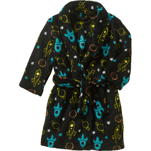 Boys Plush Robe, Available in 4 Prints