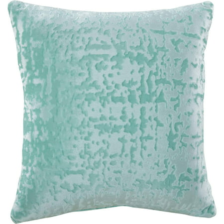 Mainstays Velvet Decorative Pillow, 18