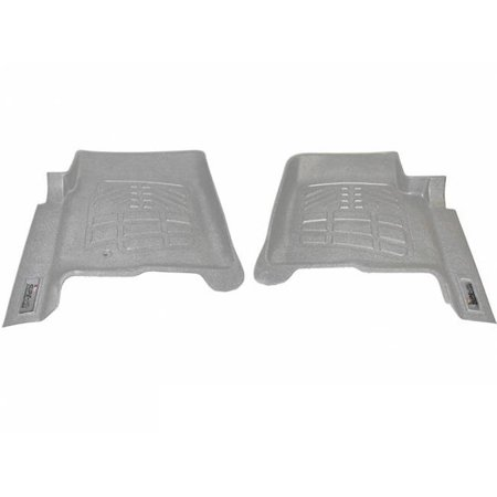 72120021 Wade Sure-Fit Floor Mats for 2000-2007 Ford F250 4WD Floor Shifter, Grey