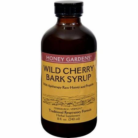 Honey Gardens Apiaries Honey Wild Cherry Bark Syrup - 8 Fl Oz (Honey Gardens Wild Cherry Bark)