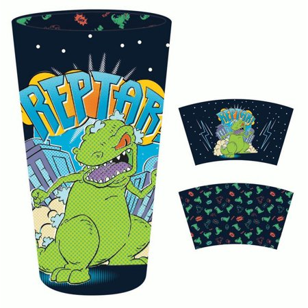Pint Glass - Rugrats - Reptar 16oz New gls-nick-rrpt - Rugrats Decorations
