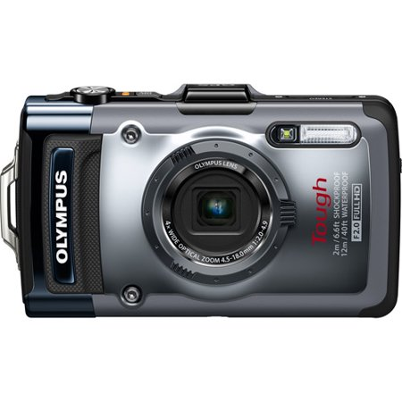 Olympus TG-1 iHS Digital Camera Silver