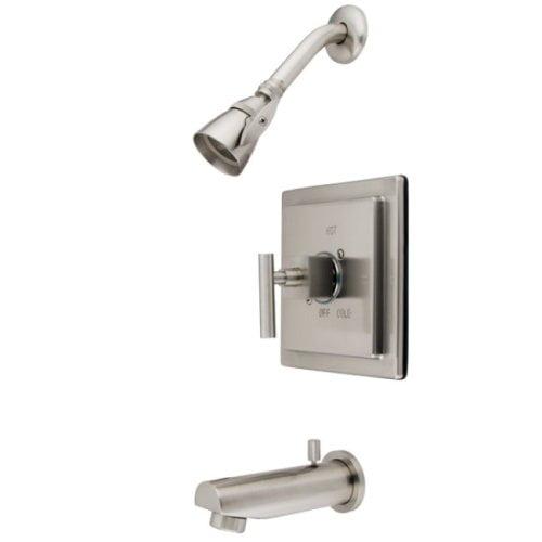 Kingston Brass Claremont Single Handle Tub & Shower Faucet