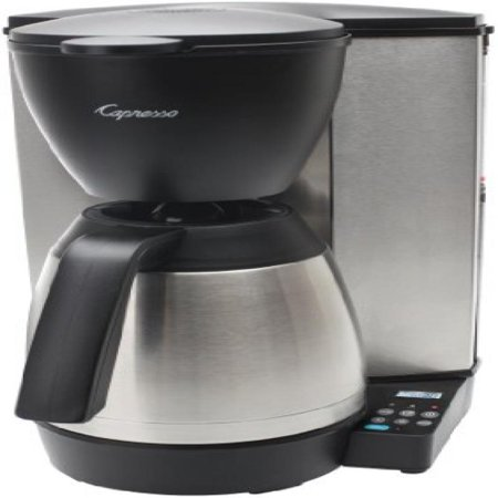 capresso 10 cup thermal carafe coffee maker reviews
