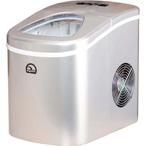 Igloo Compact Ice Maker - ICE108 - Silver