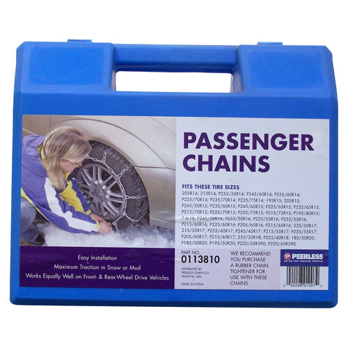 Peerless Passenger Car Tire Chains, #113810