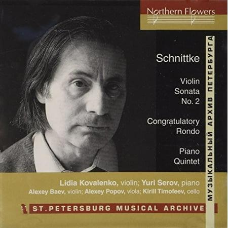 Schnittke: Violin Sonata No. 2 Piano Quintet (Piano Quintet Violin)