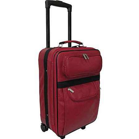 Rozanne Leather 22 Expandable Carry-On (Expandable Pullman)