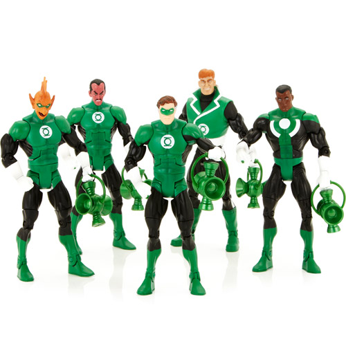DC Universe Green Lantern Action Figures, 5-Pack