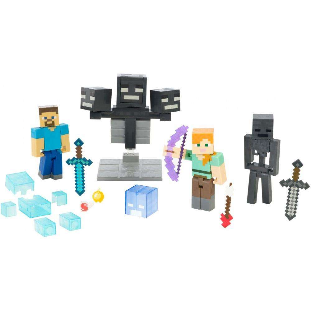 Minecraft Wither Warfare Multipack by MATTEL BRANDS A DIVISION OF MATTEL DIRECT IMPORT INC